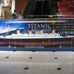 Titanic Exhibit - Luxor