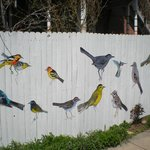 Wonderful, decorated fence