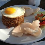  nasi goreng for breakfast