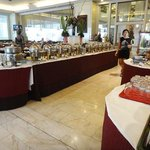 the other side of the main buffet table, so many good selection!