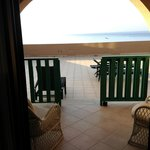 The deck off our room