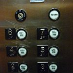  Weird elevator buttons --check your room number to find your floor number button