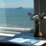  View of St Michael&#39;s Mount from front bedroom