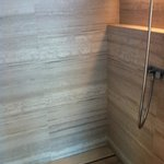 the intelligent elegant beautiful shower and shelf gorgeous materials and workmanship