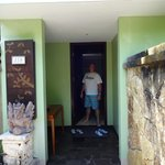  Entry to our villa