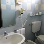 Toilet, bidet and washbasin