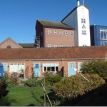  Our room and Adnams Brewery behind