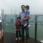 Sky park@ Marina Bay Sands