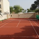 Hotellets Tennisbana