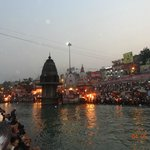  An evening spent watching the Ganga aarti