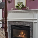  Five of our six guest rooms feature fireplaces.  Perfect year around.