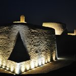  Bahrain Fort evening view
