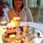  Birthday Dessert at Cedars