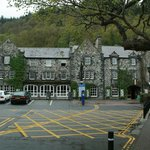Front View of The Royal Oak Hotel, Betws-y-Coed
