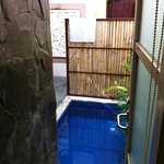  SDB vue plunge pool