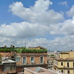  View from our balcony included St Peter&#39;s Basilica! Room 637