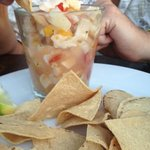  Conch Ceviche at Beachers... heavenly