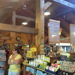 The inside of the Country Store