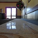  Got Game?  We have a slick shuffleboard table for you to enjoy!
