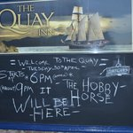 Quay Inn hosts the Original Sailor's Hobby Horse 2013