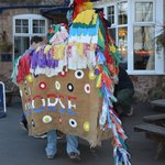 The Quay Inn hosts the Original Sailor's Hobby Horse, Hobby Horse Festival 2013