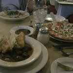 Our meal at Bistro 42