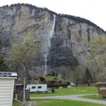  Staubbach Falls from Camping Jungfrau