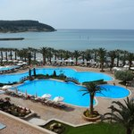  Main Pool at Sani Beach Hotel