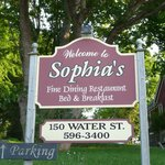  Sophia&#39;s