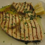 Perfectly grilled swordfish, no further comments:) - 10 euro