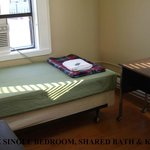  Deluxe Single Room - Shared Bath and Kitchen
