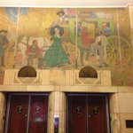  Interesting Frieze over elevators