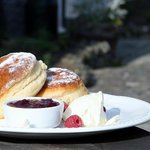 Devon cream tea