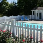 A swimming pool at a Vermont B&B?  How unusual!