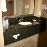  Additional sink area