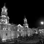 Cathedral of Arequipa in the main square