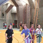 indoor climbing hall