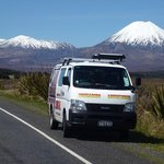 transport to Tongariro Alpine Crossing