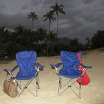 Waiting for Sunrise at Kailua Beach,2 mins away