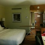  View of the hotel room