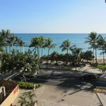  View of Waikiki Beach from balcony