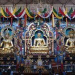  Idols of   Padmasambhava,Budha and Amithayas