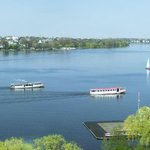 Aussicht auf die Alster aus der Duplexsuite