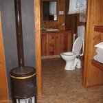 Bathroom/gas heater