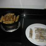  free cooking lesson, spring rolls making