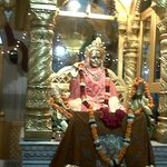 Golden statue of LAL DEVI  in main enterence