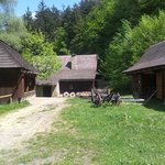 Wallachian Open Air Museum - typical houses from region