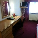 very premier inn style sparse room