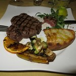 The horse steak - delicious