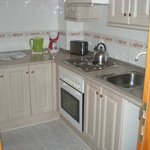 Kitchen in room